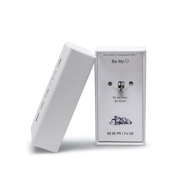 silber glänzend   Charm Box 12