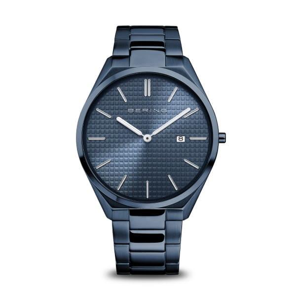 Ultra Slim | blau poliert/gebürstet | 17240-797