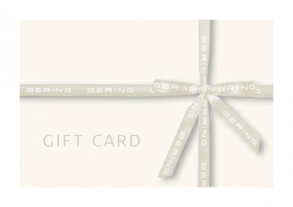 BERING Geschenk Gutschein | zum selbst Ausdrucken